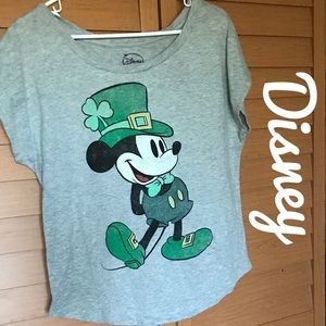Disney's St. Patrick's Day Shirt L